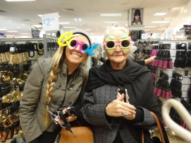 Shopping with the queen
