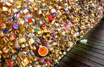 Lock your heart and throw away the key.